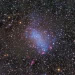 NGC 6822 (galáxia de Barnard)