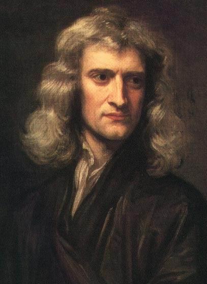 Retrato de Isaac Newton em 1689.